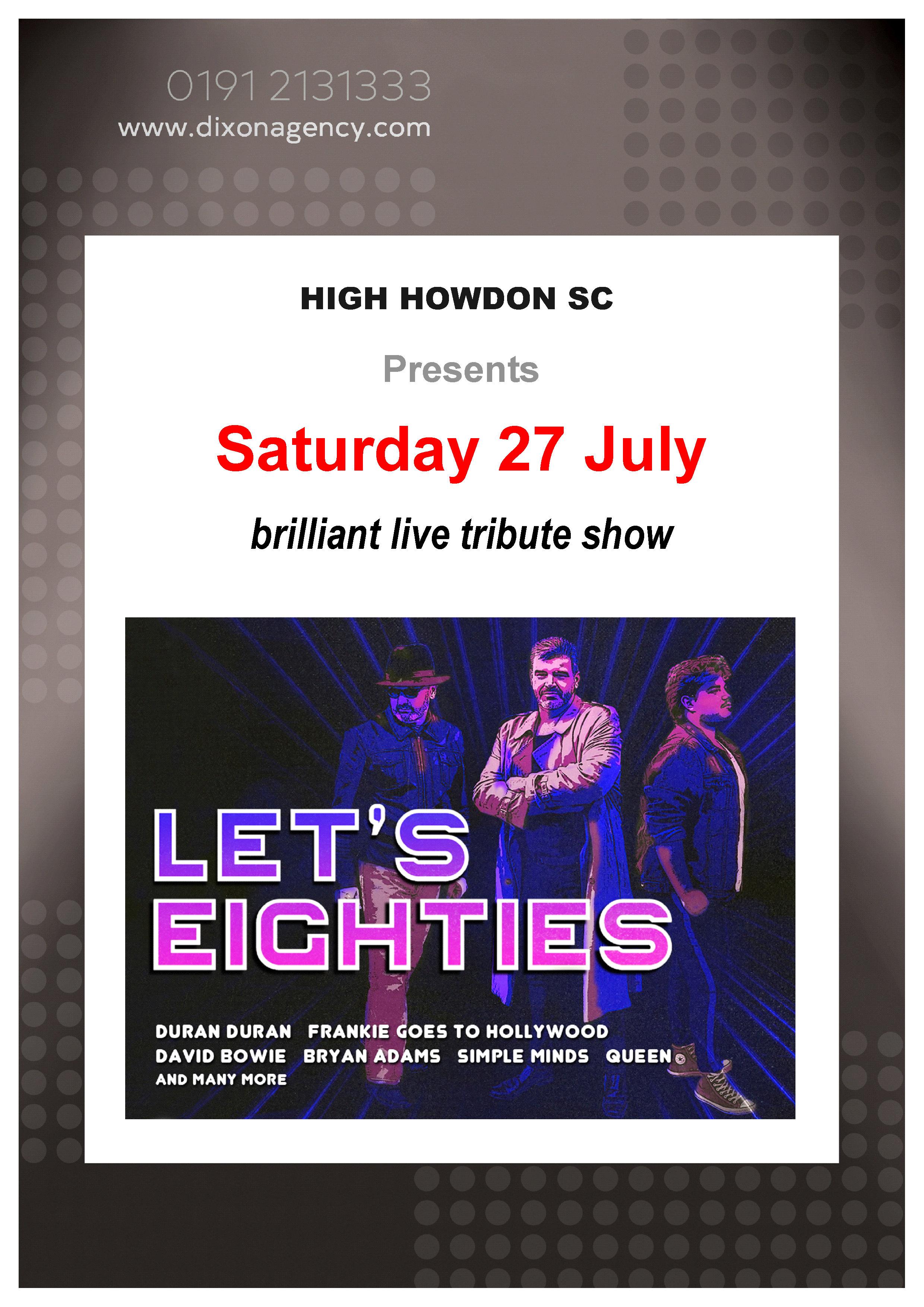 High Howdon Social Club | Lets Eighties